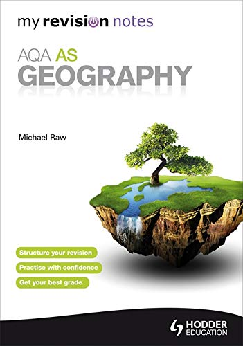 My Revision Notes: AQA AS Geography (MRN) by Raw, Michael Book The Cheap Fast