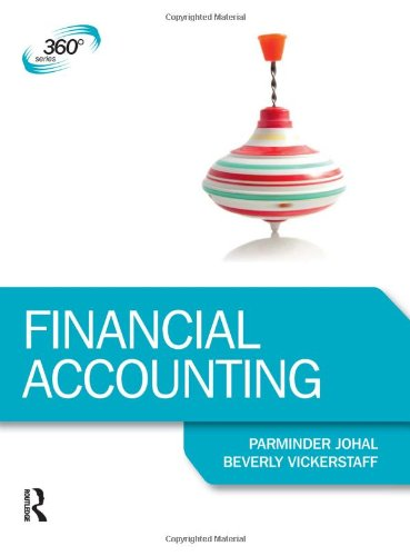 Financial Accounting By Beverly Vickerstaff