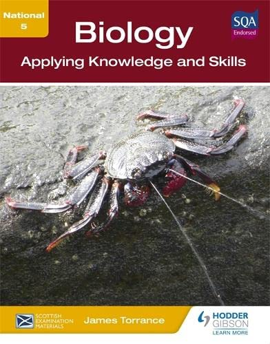 National 5 Biology: Applying Knowledge and Skills By Clare Marsh