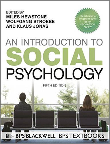 An Introduction to Social Psychology by Klaus Jonas