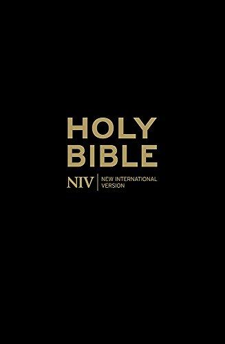 NIV Popular Cross-Reference Black Leather Bible By New International Version