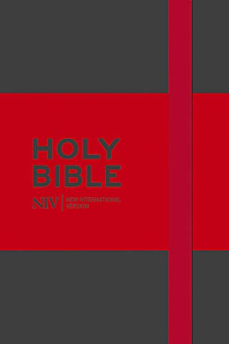 NIV Pocket Grey Notebook Bible By New International Version