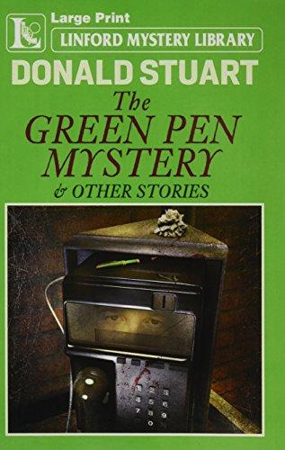 The Green Pen Mystery By Donald Stuart