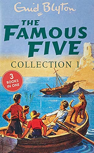 The Famous Five Collection 1 By Enid Blyton
