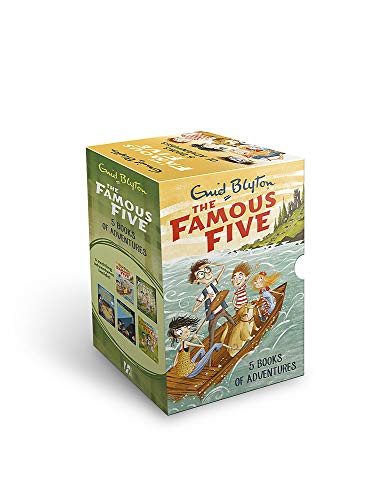 Famous Five 5-Book Collection By Enid Blyton