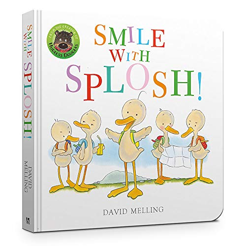 Smile with Splosh Board Book By David Melling