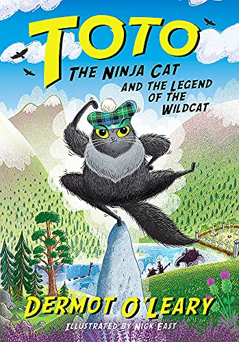 Toto the Ninja Cat and the Legend of the Wildcat By Dermot O'Leary