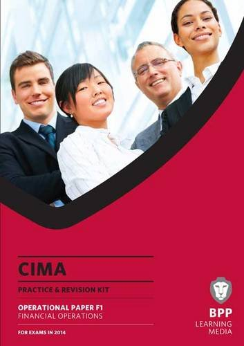 Cima Financial Operations (Practice and Revision Kit) By BPP Learning Media