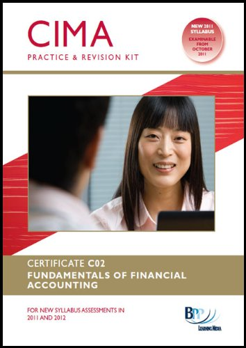 CIMA - Fundamentals of Financial Accounting: Revision Kit by BPP Learning Media