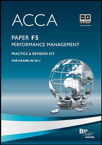 ACCA - F5 Performance Management Revision By BPP Learning Media