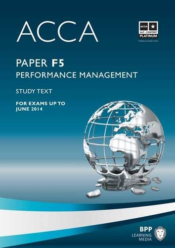 ACCA F5 Performance Management By BPP Learning Media