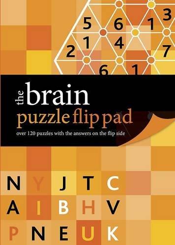 The Brain Puzzle Flip Pad