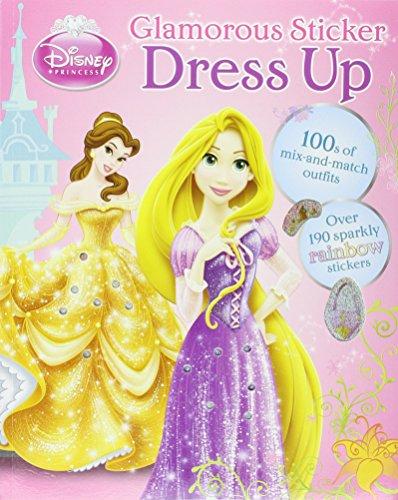 Disney Make it Sparkly - Dress-Up Doll Book By Parragon Books Ltd