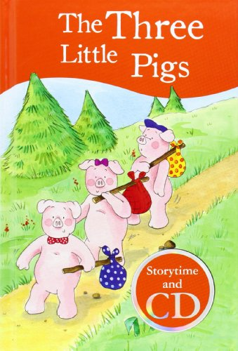 3 Little Pigs Book & CD by