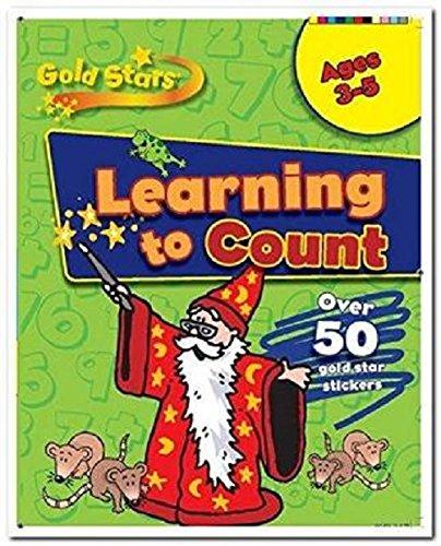 Gold Stars Starting to Count Preschool Workbook By Gold Stars