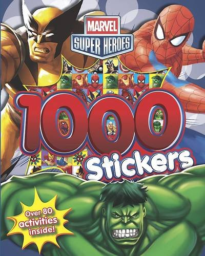 Marvel Super Heroes 1000 Sticker Book By Parragon Books