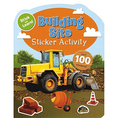 Sticker Activity Books - Building Site