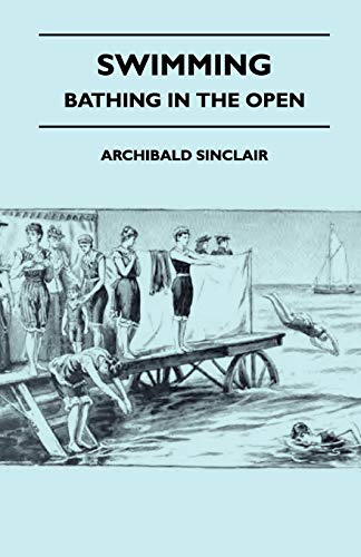 Swimming - Bathing In The Open By Archibald Sinclair