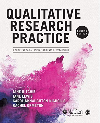 Qualitative Research Practice By Edited by Jane Ritchie