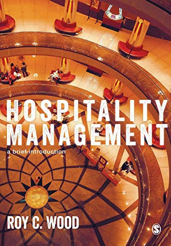 Hospitality Management By Edited by Roy C. Wood