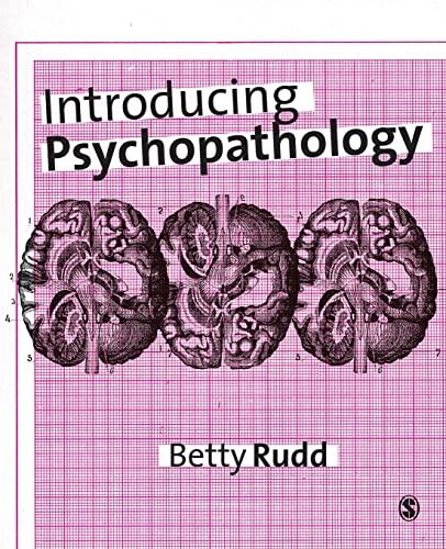 Introducing Psychopathology By Betty Rudd