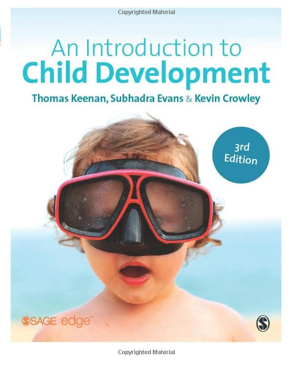 An Introduction to Child Development By Thomas Keenan