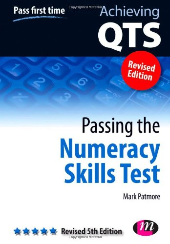 Passing the Numeracy Skills Test by Mark Patmore