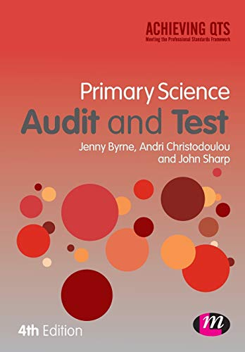 Primary Science Audit and Test By Jenny Byrne