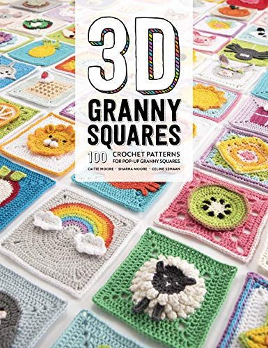 3D Granny Squares By Celine Semaan