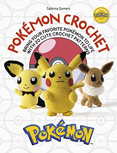 Pokemon Crochet By Sabrina Somers