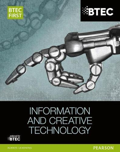 BTEC First in Information and Creative Technology Student Book By Eddie Allman