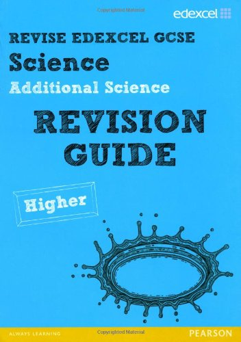 Revise Edexcel: Edexcel GCSE Additional Science Revision Guide - Higher by Penny Johnson