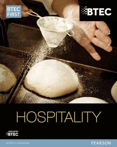 BTEC First in Hospitality Student Book By Sue Holmes