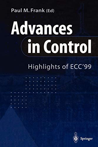 Advances in Control By Paul M. Frank