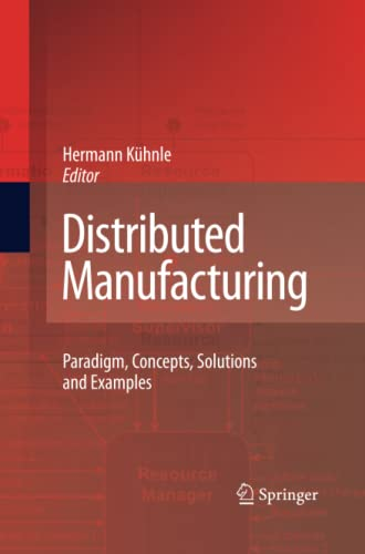 Distributed Manufacturing By Hermann Kuhnle