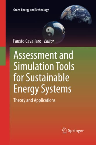 Assessment and Simulation Tools for Sustainable Energy Systems By Fausto Cavallaro