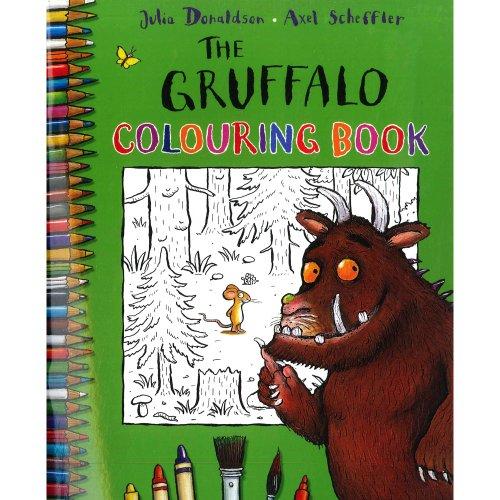The Gruffalo Colouring Book Spl By Donaldson Julia S
