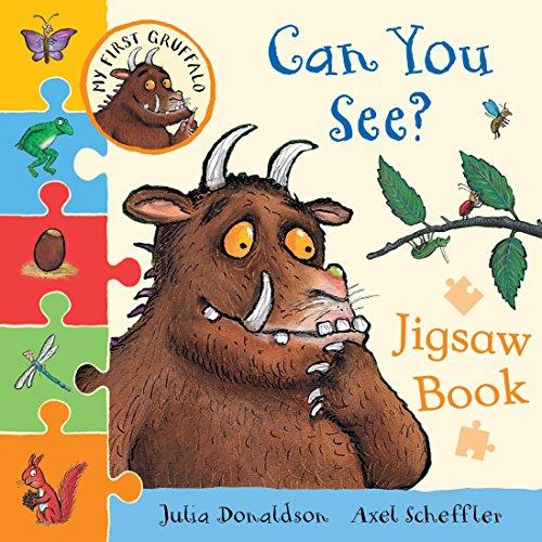 My First Gruffalo: Can You See? Jigsaw book (My First Gruffalo Jigsaw) By Julia Donaldson