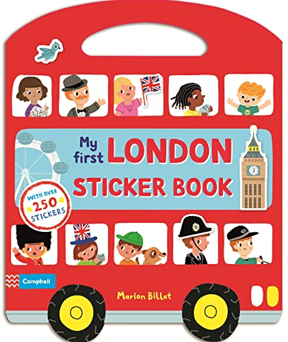 My First London Sticker Book By Marion Billet