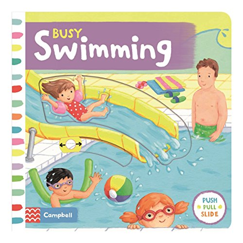 Busy Swimming By Rebecca Finn