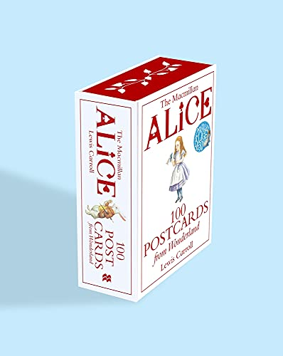 Alice: 100 Postcards from Wonderland (MacMillan Alice) By Lewis Carroll