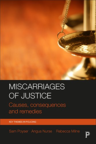 Miscarriages of Justice By Sam Poyser (York St John University)