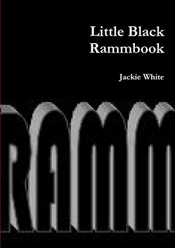 Little Black Rammbook By Jackie White