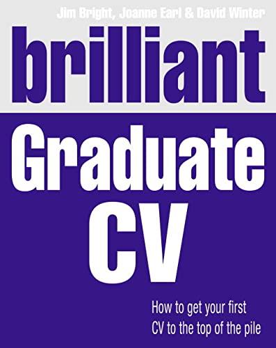 Brilliant Graduate CV By Jim Bright
