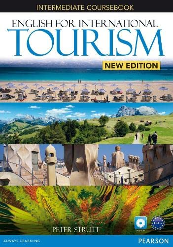 English for International Tourism Intermediate New Edition Coursebook and DVD-ROM Pack By Peter Strutt