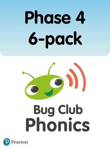 Bug Club Phonics Phase 4 6-pack (120 books) By Paul Shipton