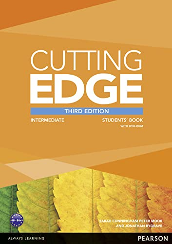 Cutting Edge 3rd Edition Intermediate Students' Book and DVD Pack By Sarah Cunningham