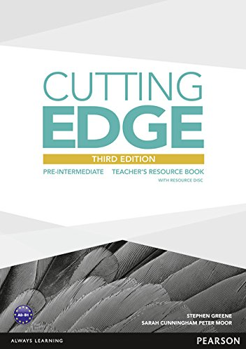 Cutting Edge 3rd Edition Pre-Intermediate Teacher's Book and Teacher's Resource Disk Pack By Stephen Greene