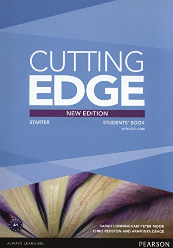 Cutting Edge Starter New Edition Students' Book and DVD Pack By Sarah Cunningham
