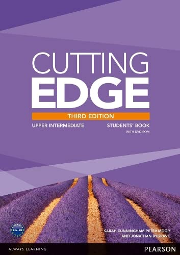 Cutting Edge 3rd Edition Upper Intermediate Students' Book and DVD Pack By Jonathan Bygrave